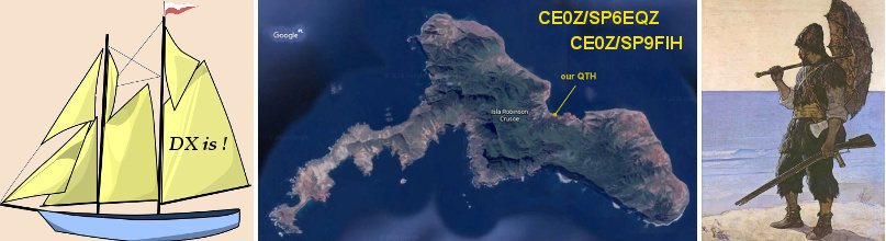 Two-person DXpedition to Robinson Crusoe Island